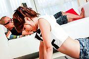 Rosa Kawashima - Rosa Kawashima japanese masturbate with help from a friend - Picture 4