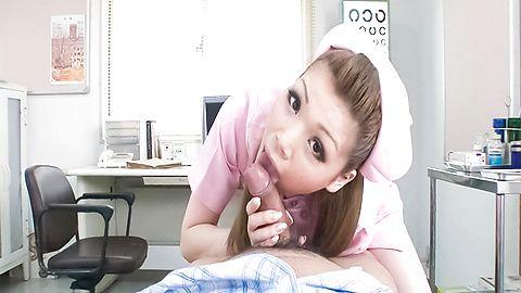 Ayumi Kobayashihouse keeper licks dick