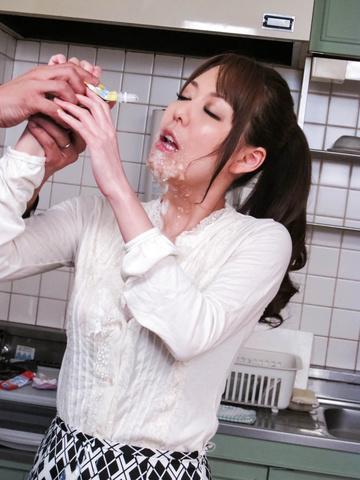 朝桐光 - ザー汁ぶっかけ爆乳熟女!朝桐光 - Picture 4
