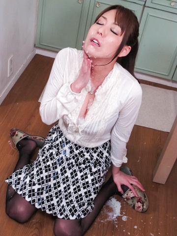 朝桐光 - ザー汁ぶっかけ爆乳熟女!朝桐光 - Picture 6