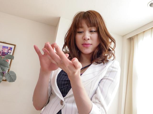 更田まき - 性の家庭教師更田まき~フェラテク編 - Picture 7