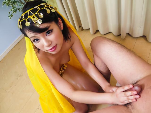 Mei Ashikawa - Warm Japanese blowjob by steamy milfMei Ashikawa - Picture 6