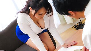 家庭主妇给完美日本口交