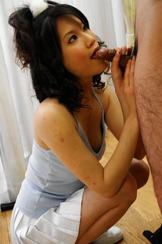 Suzuki Chao - Suzuki Chao gives a long sensual blowjob from a good POV - Picture 9