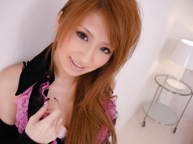 Yuzu Shiina - 柚子椎名得到钻孔深的悸动的公鸡和暨填充 - 图片 1