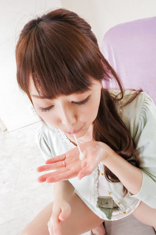 Rei Furuse - Naughty Asian blowjobs by kinky Rei Furuse  - Picture 11