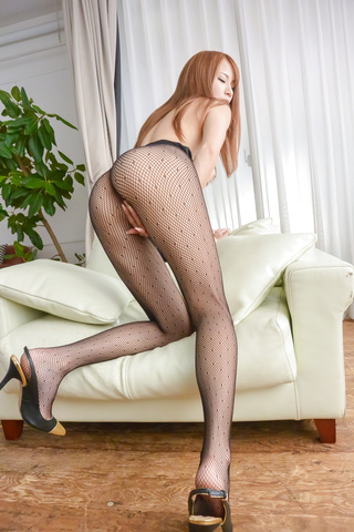 Nami Itoshino - Asian huge dildo to please naughty Nami Itoshino  - Picture 5