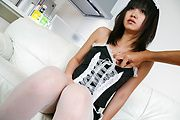 Kotomi Asakura - Sexy Kotomi Asakura is fingered and squirts - Picture 5