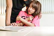 Yui Uehara - 日本吹箫取悦讨厌小唯上原 - 图片 2