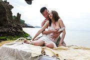 Ruka Ichinose - 美熟女野外砂浜ファック!一ノ瀬ルカ - Picture 7