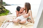 Ruka Ichinose - 美熟女野外砂浜ファック!一ノ瀬ルカ - Picture 8