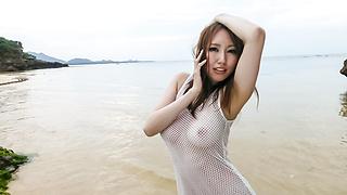 Ruka Ichinoseoutdoor Asian amateur video