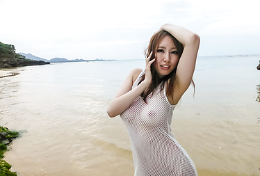 Ruka Ichinose outdoor Asian amateur video