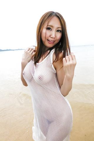 Ruka Ichinose - Ruka 一之濑室外亚洲业余视频 - 图片 2