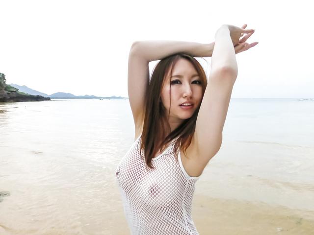 Ruka Ichinose - Ruka 一之濑室外亚洲业余视频 - 图片 3