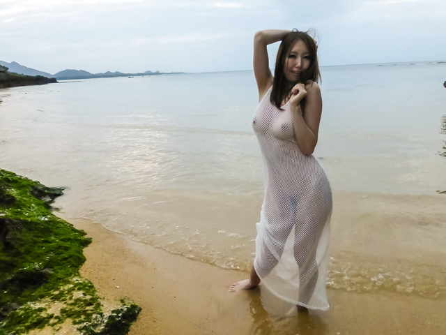 Ruka Ichinose - Ruka 一之濑室外亚洲业余视频 - 图片 5