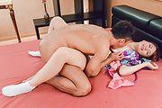 Eri Hosaka - Asian girl creampie with nastyEri Hosaka - Picture 12