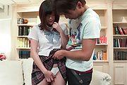 Rara Unno - Brunette Japan teen crazy scenes of hardcore sex  - Picture 1