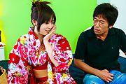 Nozomi Hazuki - 希叶月给日本吹箫,奶油 - 图片 2