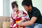 Nozomi Hazuki - 希叶月给日本吹箫,奶油 - 图片 3