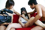 Karen Natsuhara - 女子アナグループファック中出しレポート - Picture 10