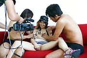 Karen Natsuhara - 女子アナグループファック中出しレポート - Picture 11