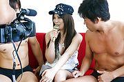 Karen Natsuhara - 女子アナグループファック中出しレポート - Picture 8