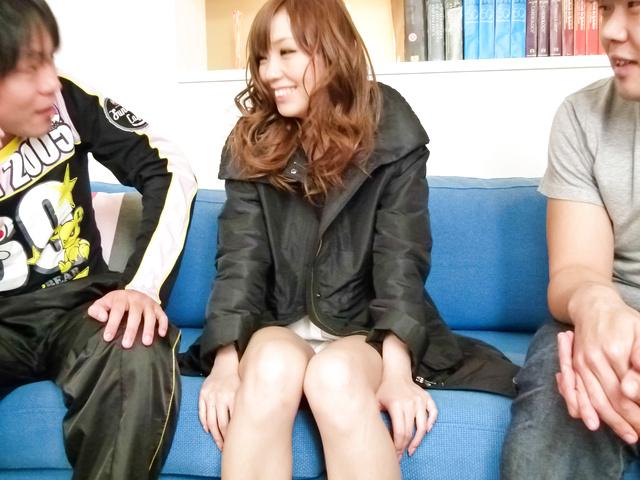 Megu Kamijo - Megu Kamijo gets asian cumshots on her big boobs - Picture 12
