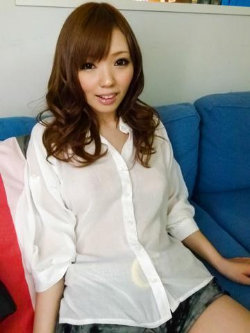 Megu Kamijo - Megu Kamijo gets asian cumshots on her big boobs - Picture 3