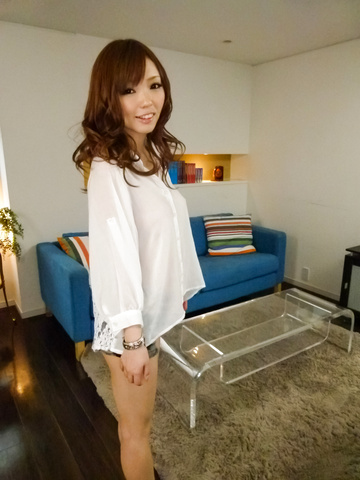 Megu Kamijo - Megu Kamijo gets asian cumshots on her big boobs - Picture 9