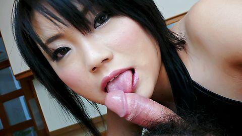 Haruna Katou hot milf sucks dick so well! asian models, nude asian girls, asian tits