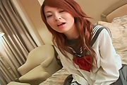 Ran - Young Asian pussy fucking along steamy Ran - Picture 7