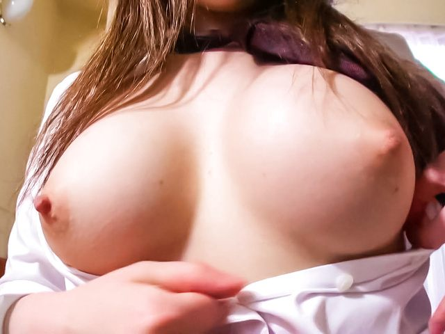 Yukina Mori − Sex-craving babe swallowing her boyfriend's cock and get screwed − Picture 6