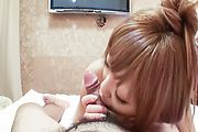 Minami - Minami MILF with more than a mouthful for a japan blowjob - Picture 6