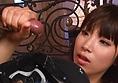 阳平橘 ' s 热的亚洲女孩吸吮公鸡