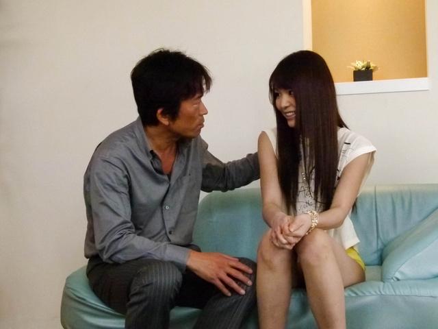 Megumi Shino - Hot Megumi Shino gets vibrators in blowjob - Picture 8