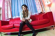 Mai Shirosaki - XXX Japanese porn trio with slim Mai Shirosaki  - Picture 1