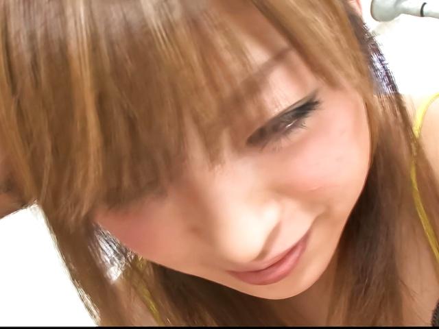 Yuu Mizuki - Yuu Mizuki has boner in hairy poonanie - Picture 1