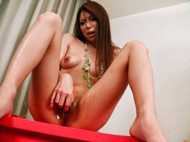 Rino Asuka - Asukarino gives a self pleasuring show as a foreplay - Picture 9