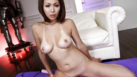 Mai Kuroki hardcore fucked and kinky massive cumshots