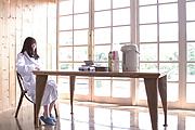 Saya Niiyama - Young Japanese creampie pleasure to end her porn show  - Picture 2