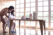 Saya Niiyama - Young Japanese creampie pleasure to end her porn show  - Picture 5