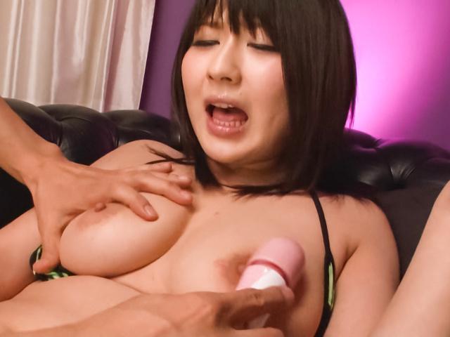 Megumi Haruka - Teen asian dildo sex has Megumi Haruka cumming loud - Picture 7