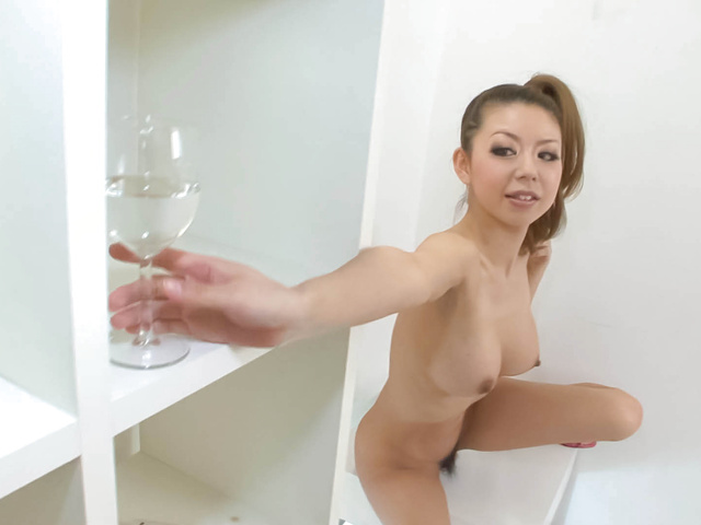 Ryuu Narushima - Ryuu Narushima goes solo girl with dildo riding - Picture 3