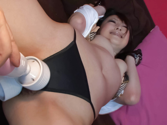 Asuka Mimi - Two Guys Have Their Way with Sexy, Horny Asuka Mimi - Picture 9