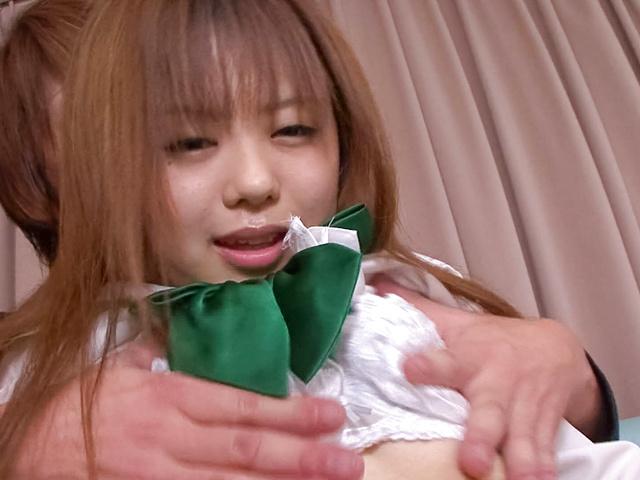 Noriko Kago - Cute and horny Asian teen babe Noriko Kago fondled and hard fucked - Picture 5