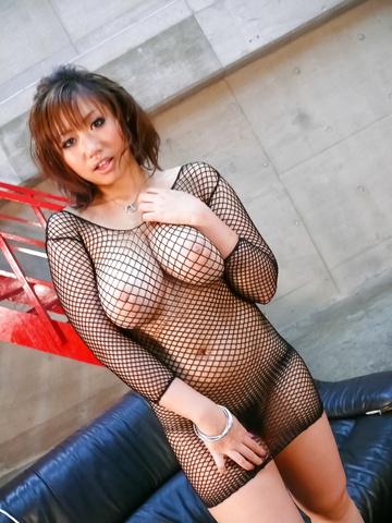 Neiro Suzuka - Neiro Suzuka cums hard in an asian masturbate video - Picture 3