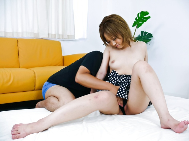 Ai Shirosakia - Teeny and hot Asian Ai Shirosakia railed in her mound - Picture 8