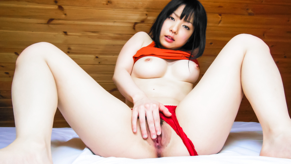 Phim Sex Hot solo with a busty Japanese babe and her Asian dildo