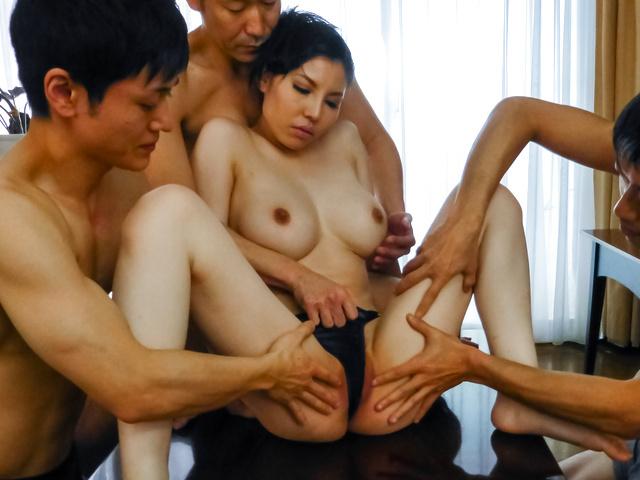 Sofia Takigawa - Asian sex orgy along cute and naughtySofia Takigawa - Picture 10